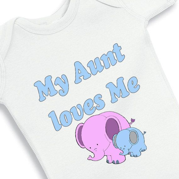 My aunt loves me blue heart and cute by babyonesiesbynany on etsy are a new aunt and are looking for the best aunt onesie for your nephew or niece i know there are hundreds of baby onesies with aunt messages negle Image collections
