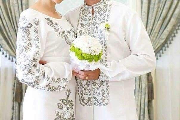 Весільна парна вишиванка  866184500b59f