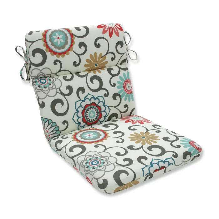 Indoor Outdoor Chair Cushion In 2020 Outdoor Chair Cushions Indoor Outdoor Chair Outdoor Lounge Chair Cushions