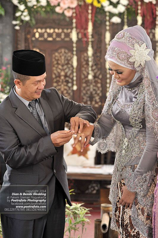 17 Foto Pengantin Dg Bajugaunkebaya Pengantin Muslim