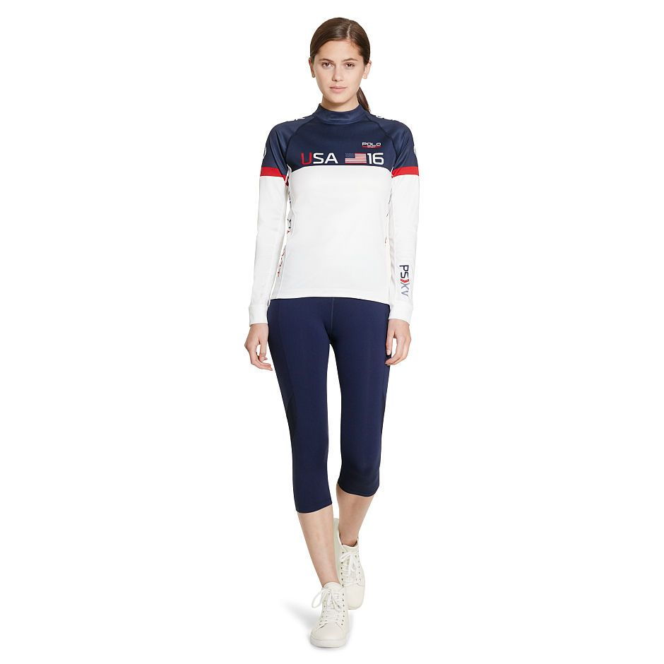USA Color-Blocked Pullover