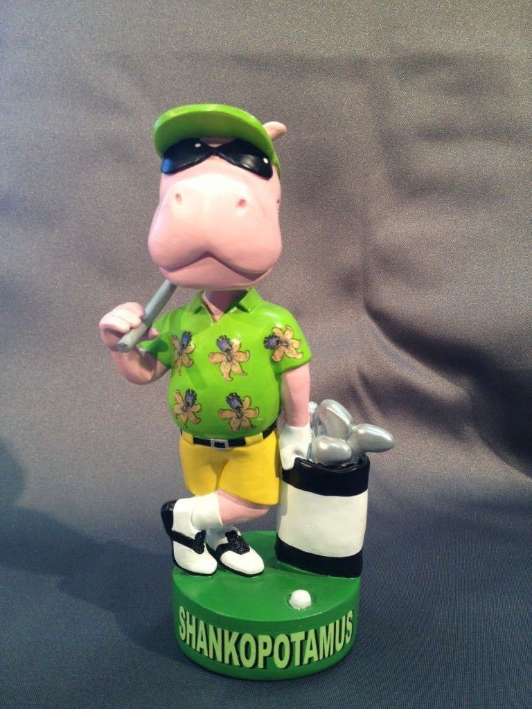 The perfect gift for the Shankopotamus in every foursome! Stands 7 inch tall. hand painted.
