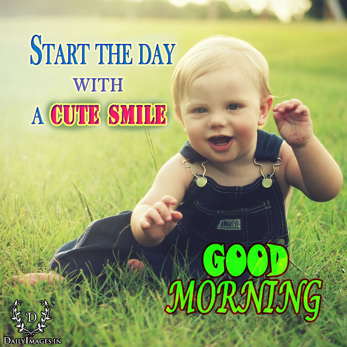 Start The Day With A Cute Smile Good Morning Goodmorning Gm Quotes Rare Baby Names Baby Crying Baby Photos