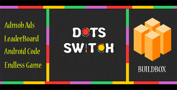 Dots Switch : Tap And Switch For IOC + Buildbox Game Template ...