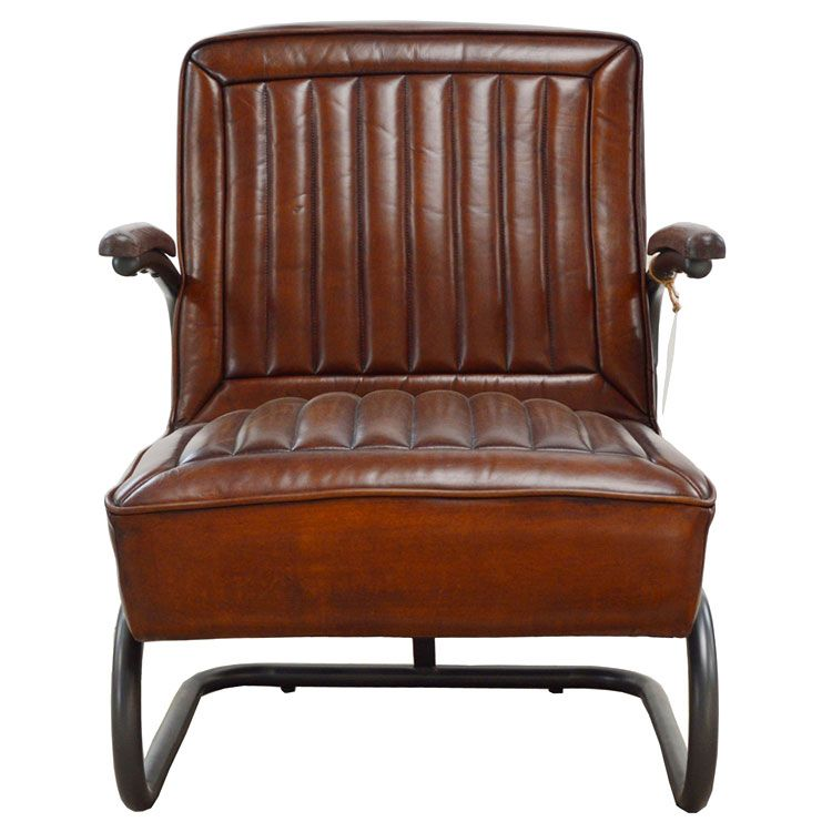 Lovely Aviator Vintage Leather Chair