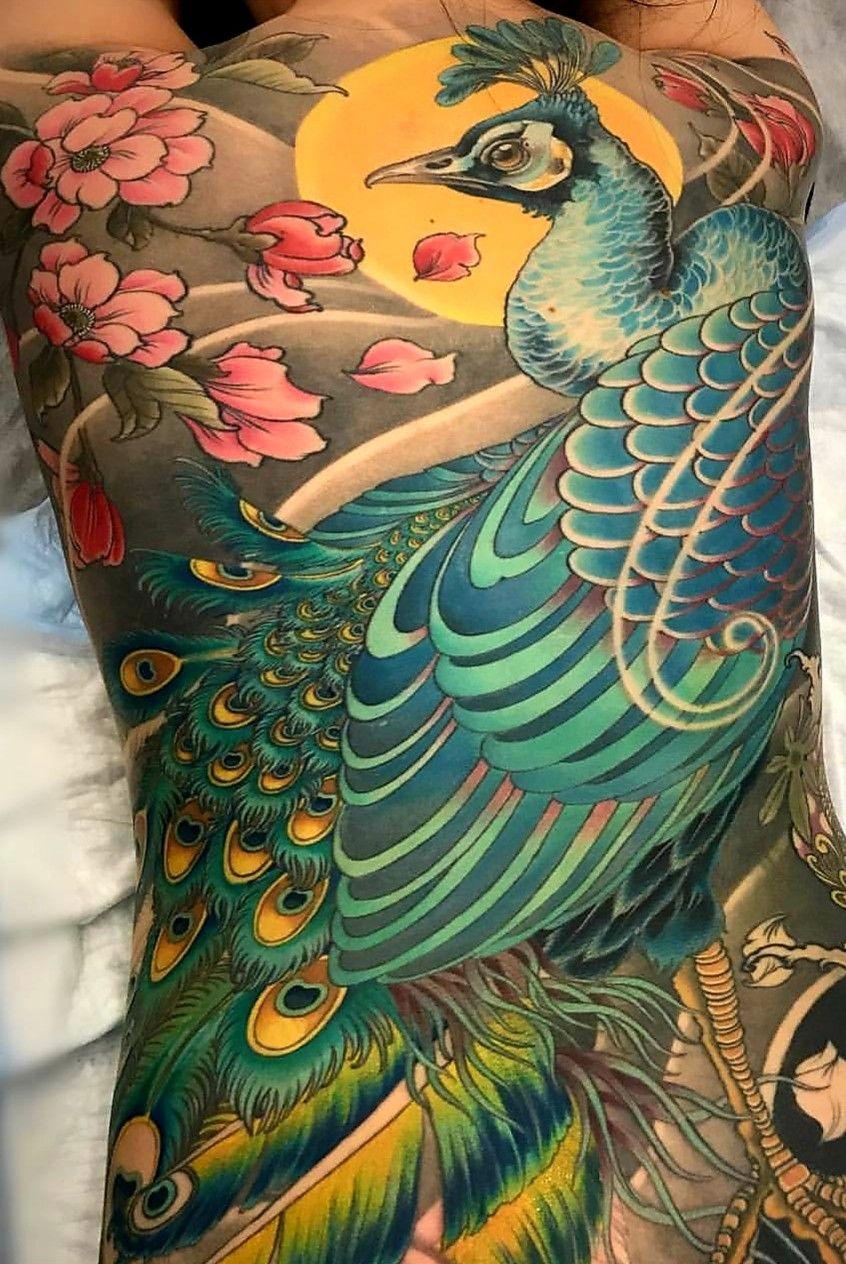 Pin de Tiên Dung en practice Tatuaje fénix japonés