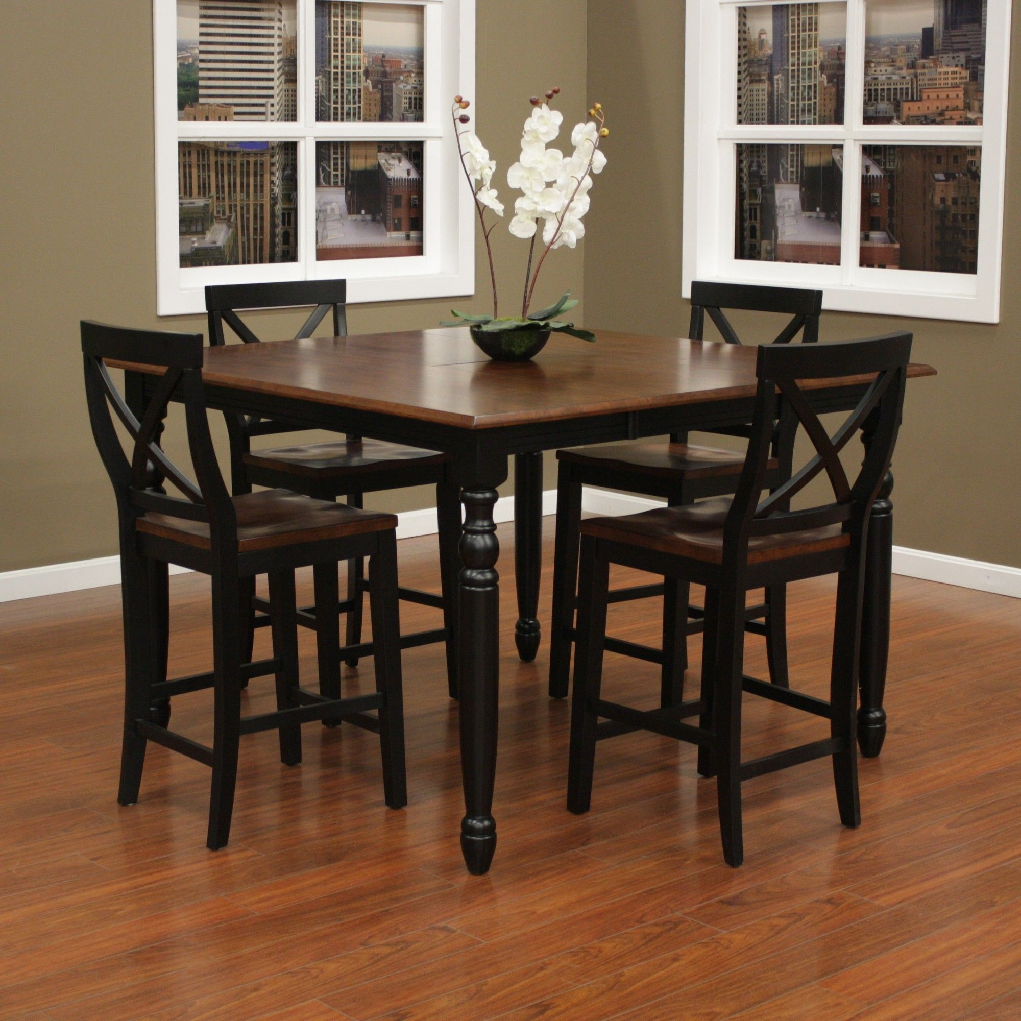 Deer Lodge 5 Piece Counter Height Dining Set