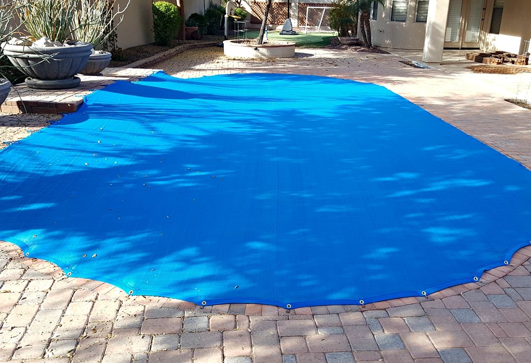 blue-pool-net-and-combo-cover | Pools | Pool safety net ...