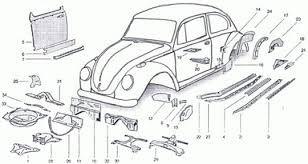 ผลการค้นหารูปภาพสำหรับ VW 1974 super beetle rear fenders
