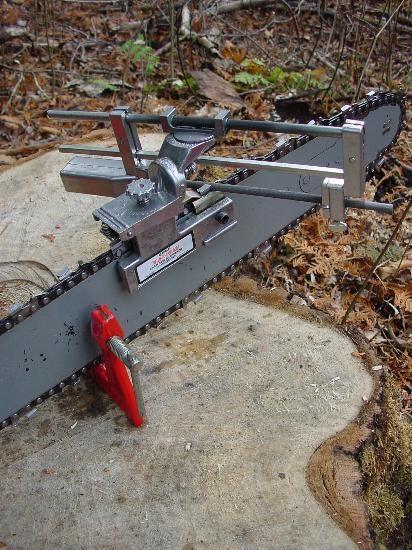 Granberg G106B Bar-Mount Chain Saw Sharpener