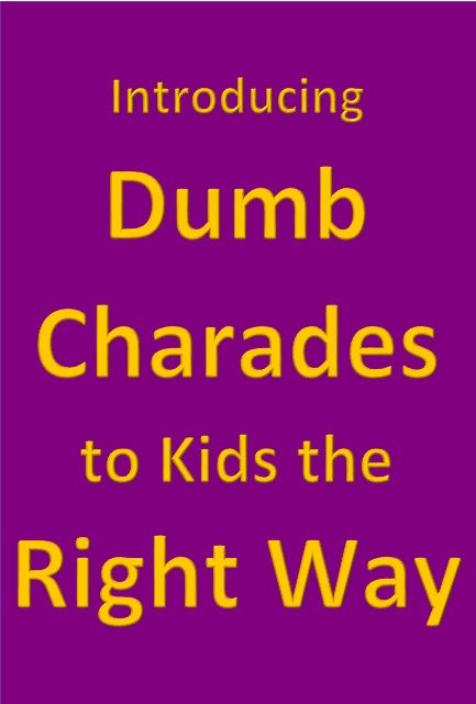 Dumb Charades Words For Students : charades, words, students, Introducing, Charades, Right, Charades,, Business, Kids,, Healthy, Family, Activities