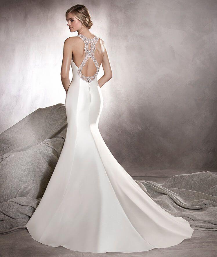 Agnes   Pronovias   Available at Lulu\'s Bridal Boutique   Lulu\'s ...