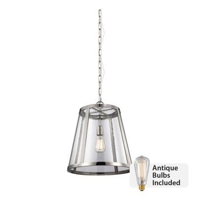 Idlewood Electric Murray Feiss 1 Light Pendant Polished Nickel  sc 1 st  Pinterest & Idlewood Electric Murray Feiss 1 Light Pendant Polished Nickel ... azcodes.com