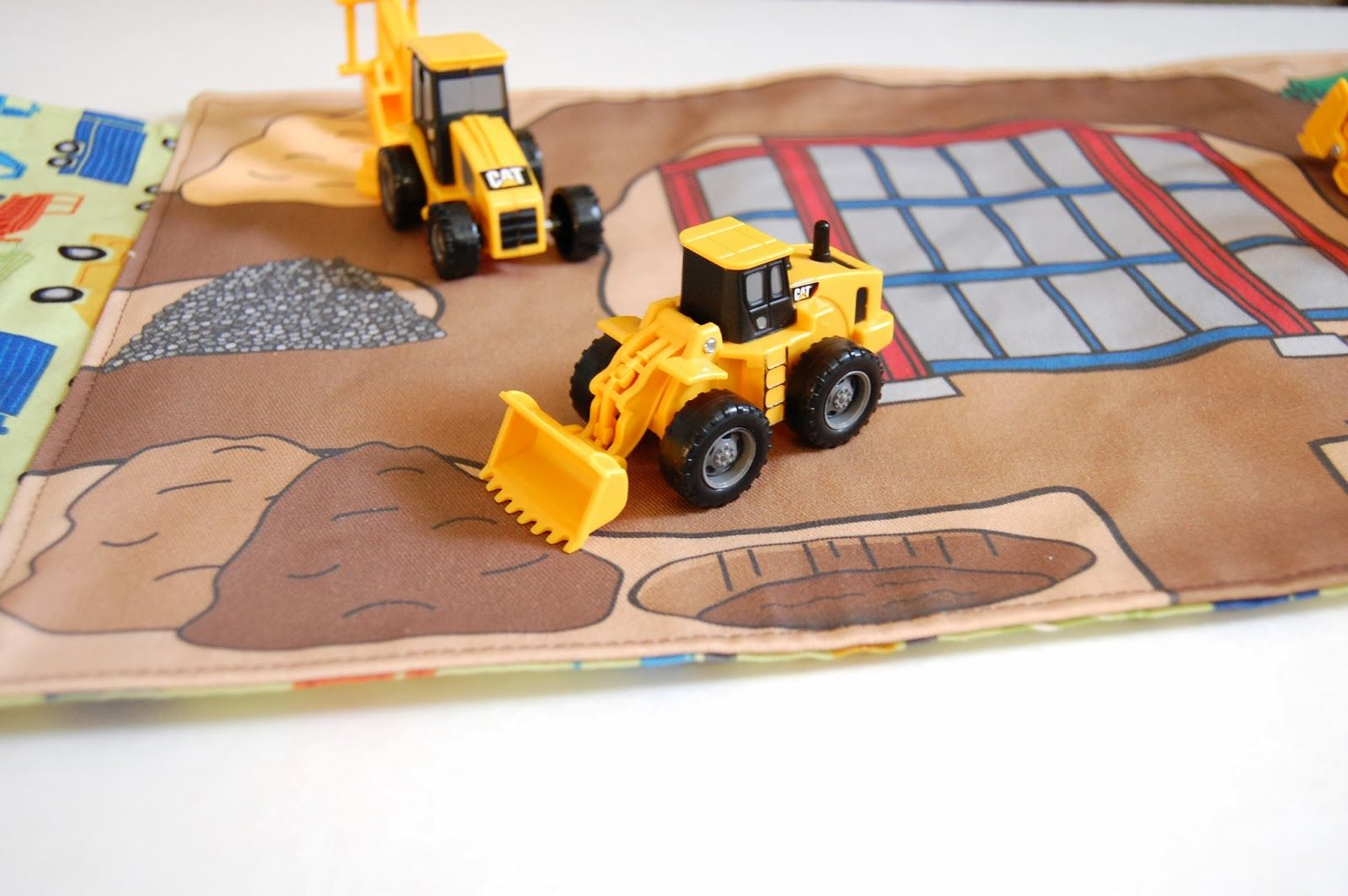 done is better than perfect construction site portable play mat