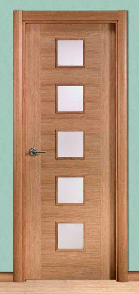 Modelo moderna lxt5vcb puertas pinterest moderno for Modelos puertas interiores