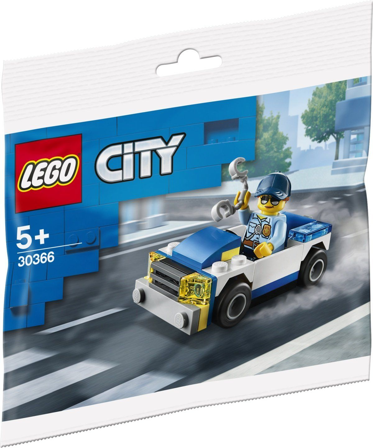 Lego 303661 Police Car in 2020 Lego city police, Lego
