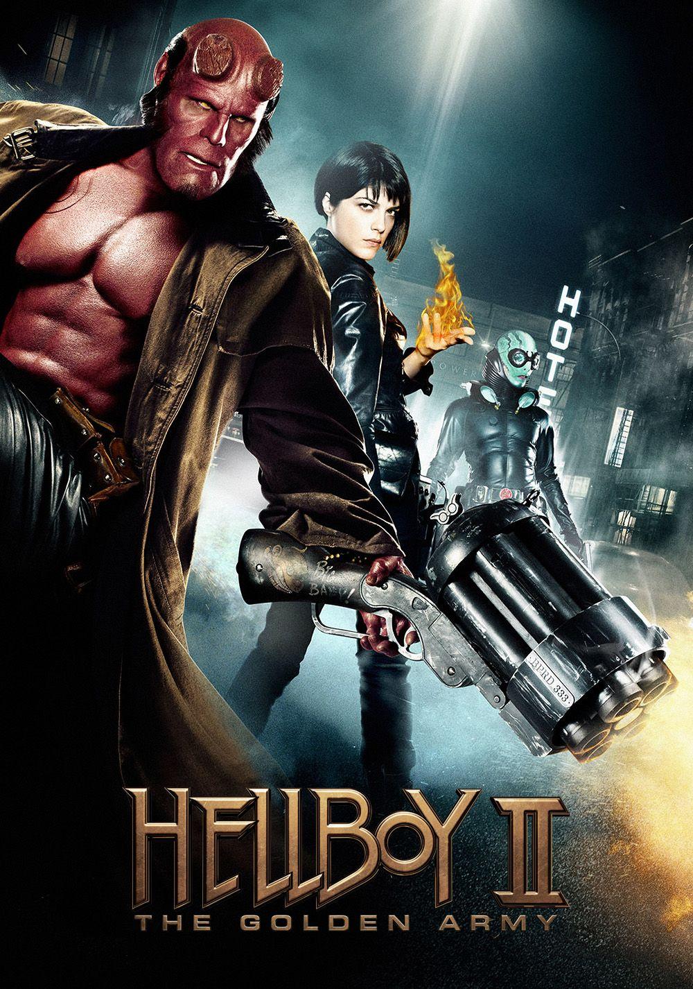 Risultati immagini per HELLBOY 2 - THE GOLDEN ARMY ( 2008 ) GIF POSTER