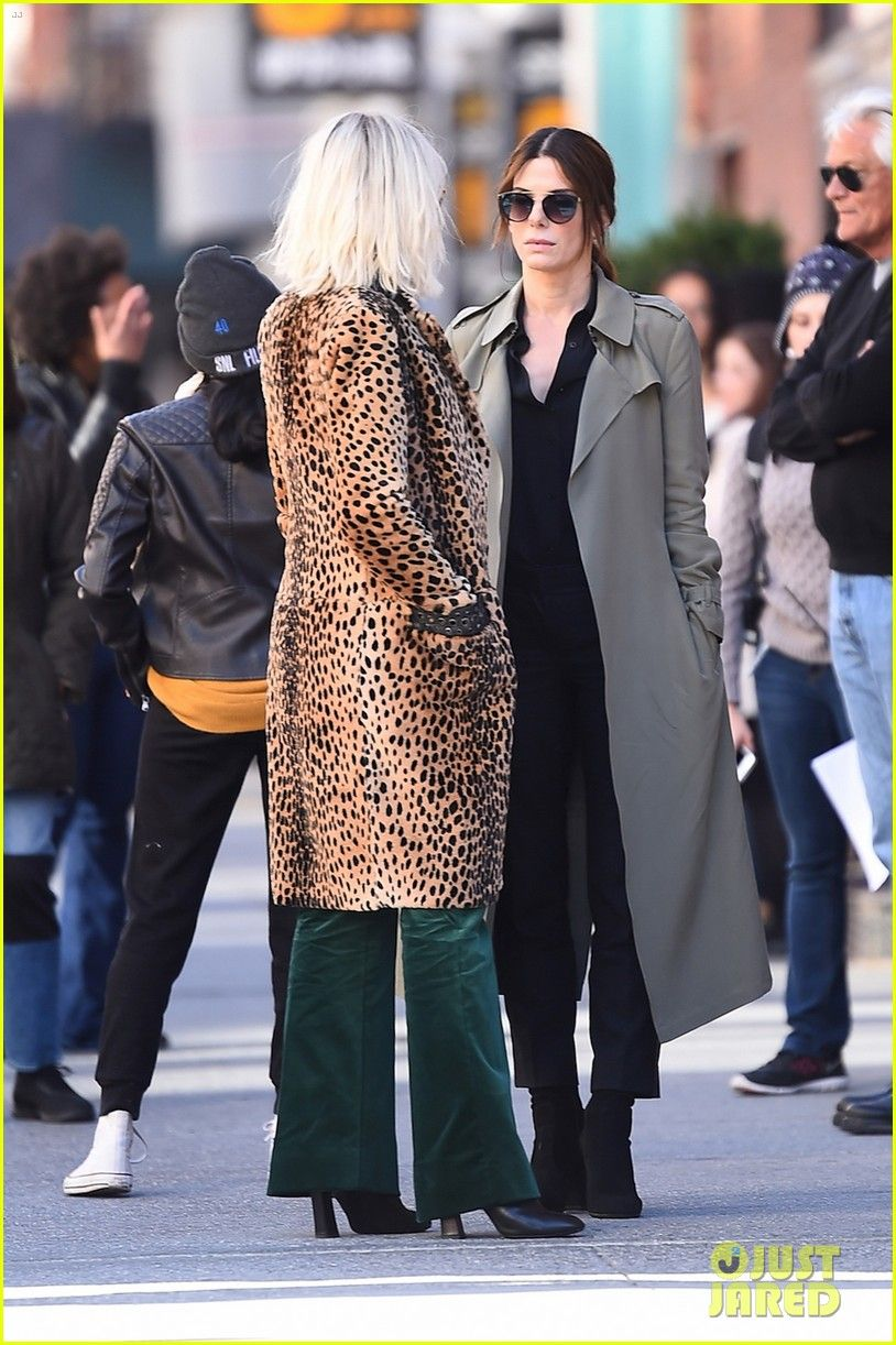 Sandra Bullock & Cate Blanchett Get to Work on 'Ocean's Eight