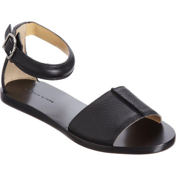 Balenciaga Vanity Sandal (317.985 CRC) ❤ liked on Polyvore