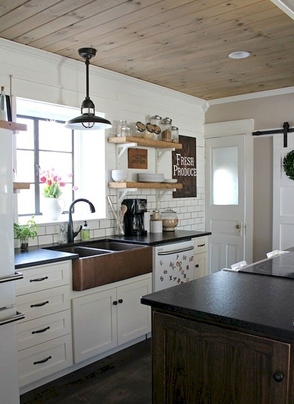 Gorgeous Farmhouse Kitchen Inspiration 59 Pinterest Farmhouse