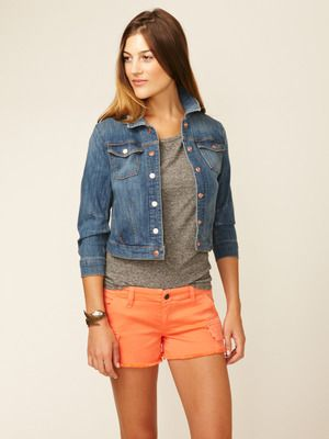 The Shooter Cropped Jacket