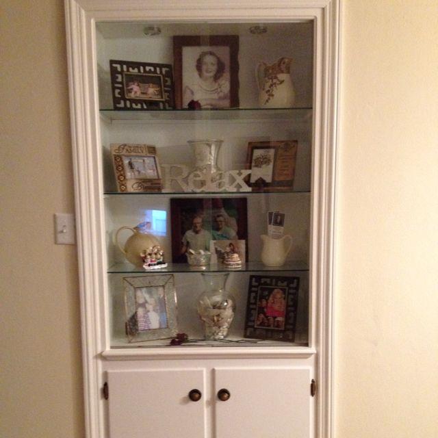 Built In Curio Cabinet