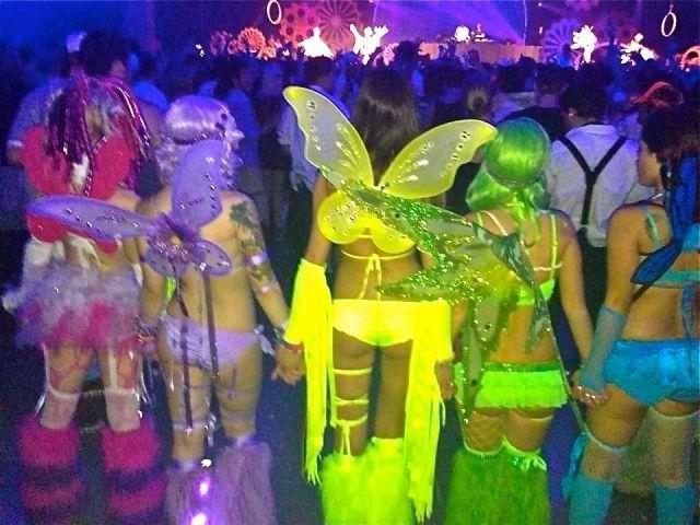 Rave angels