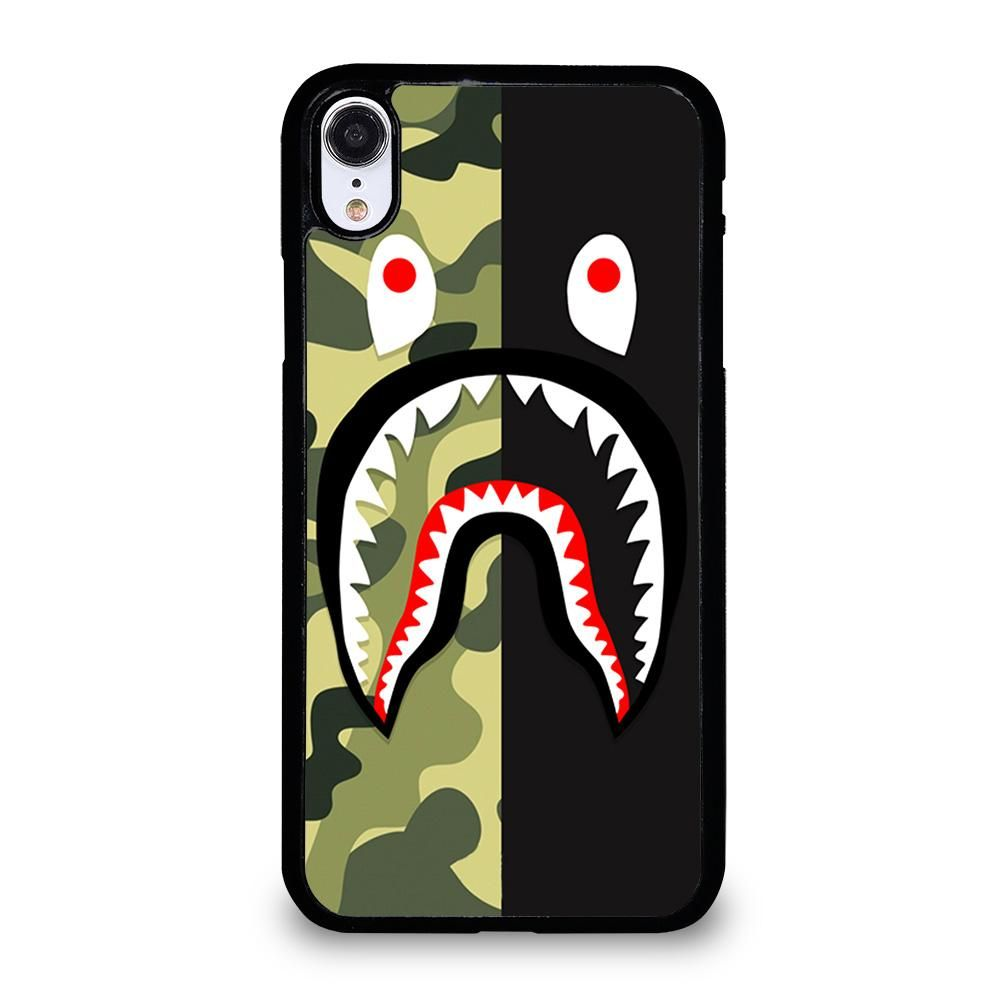 bape shark iphone case
