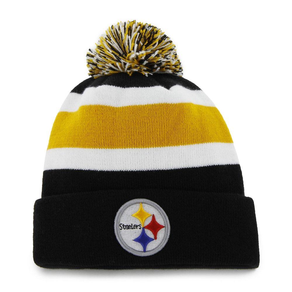 f66642ff5ad Adult  47 Brand Pittsburgh Steelers Breakaway Beanie