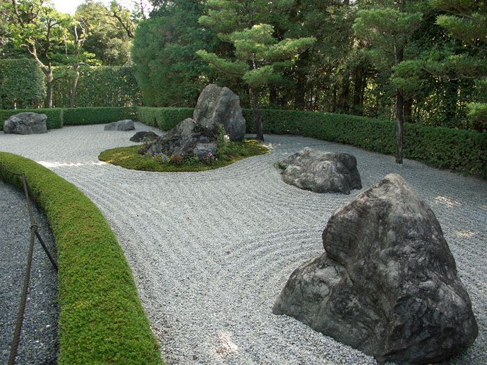Gartenideen: Zen-Garten #zengardens