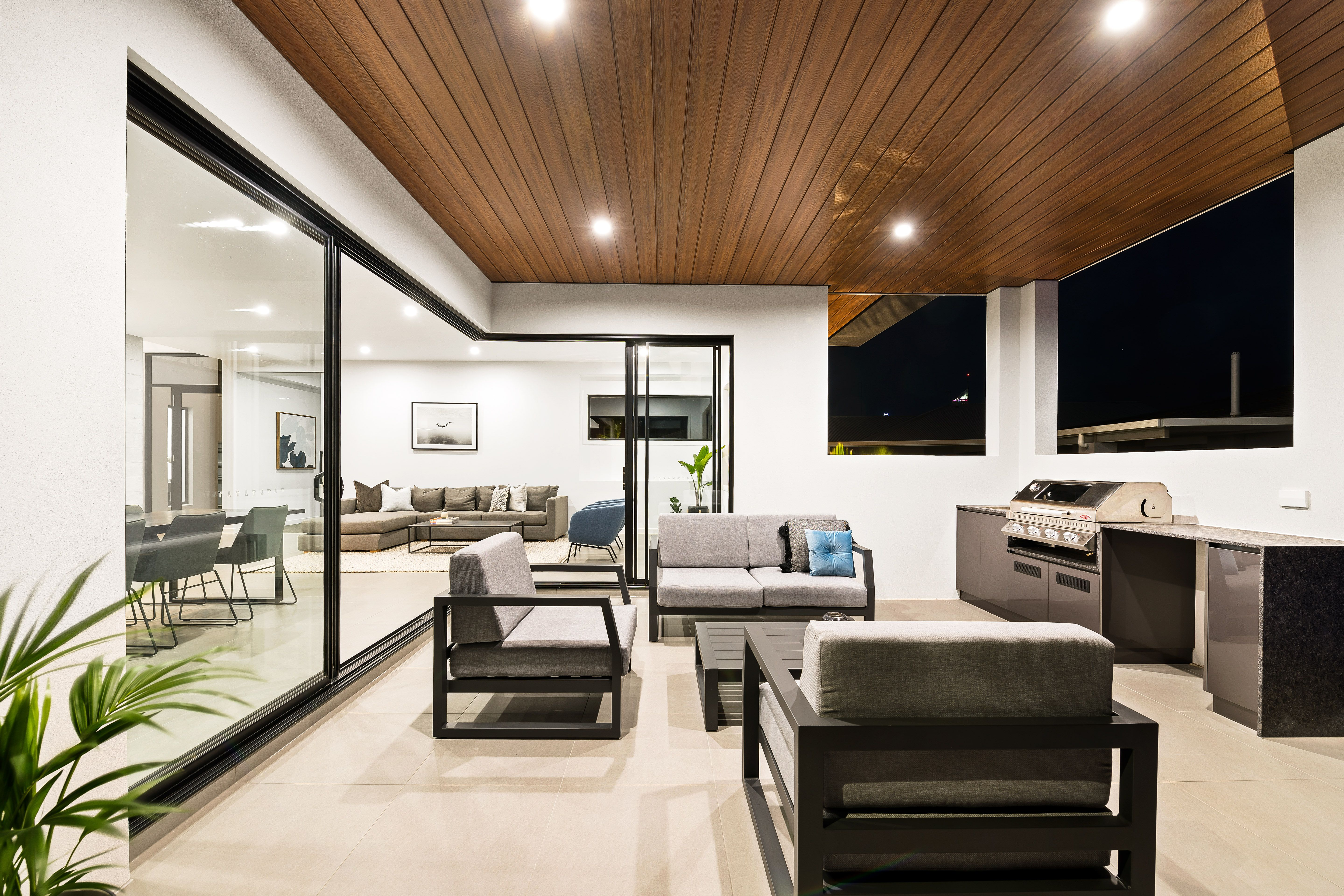 Outdoor living made easy with this custom built outdoor