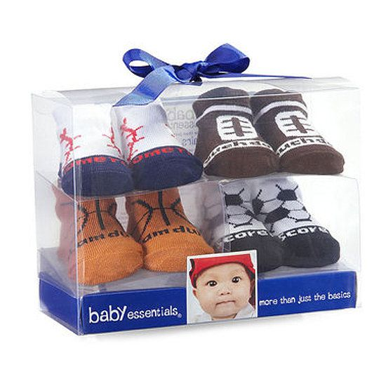 Baby Essentials Four Pack Sports Socks Sports Socks Baby