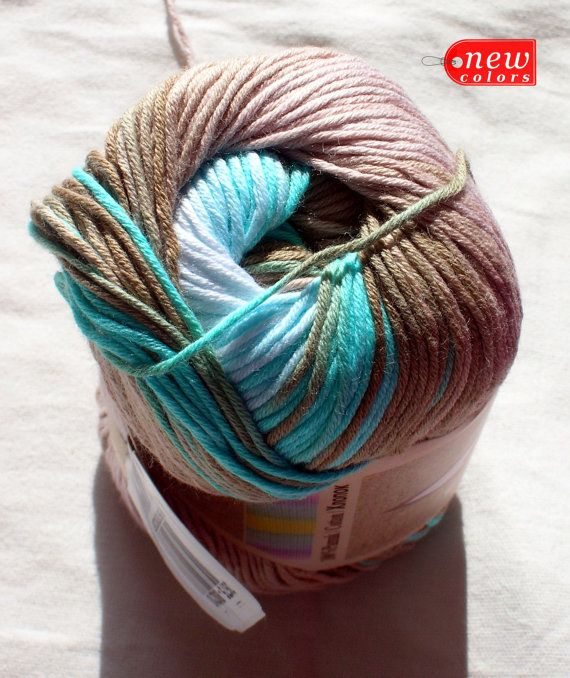 Pure Cotton Baby Yarn Light Weight Alize Bella By