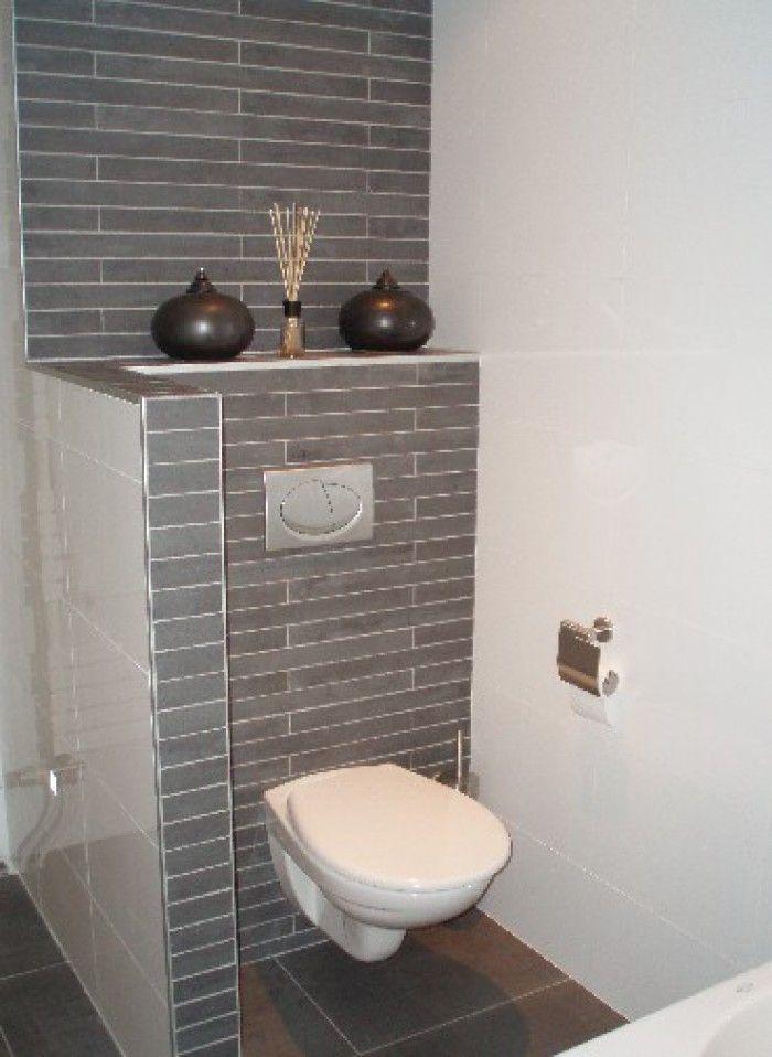 lichte grijze tegels badkamer - Google Search - Verbouwing toilet ...