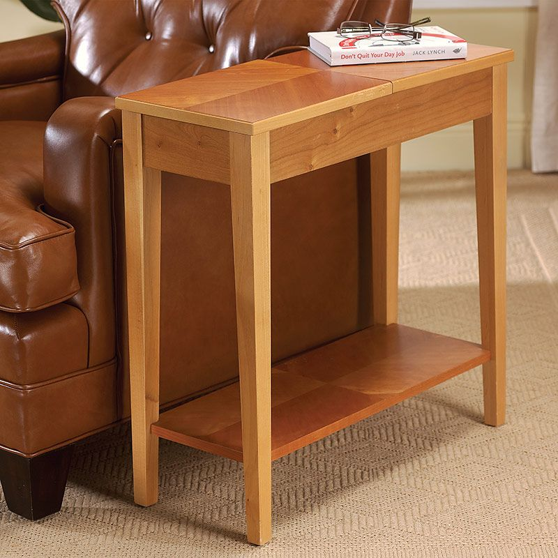 cherry end tables living room. No Room for a Table  Occasional End Side