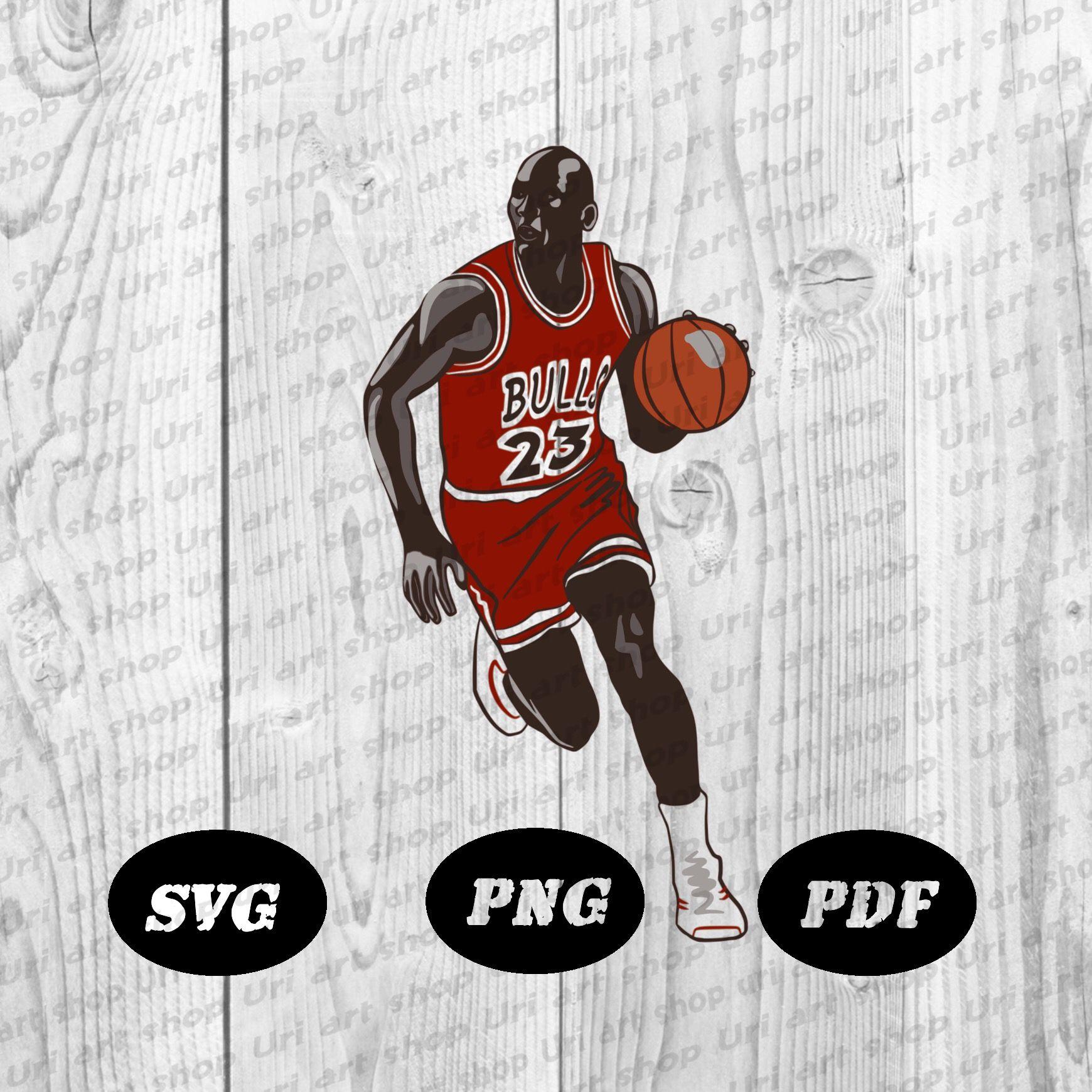 Michael Jordan Svgmichael Jordan Svg Png Pdf Formatmichael Etsy Png Svg Prints