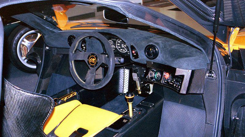 McLaren F1 GTR Interior