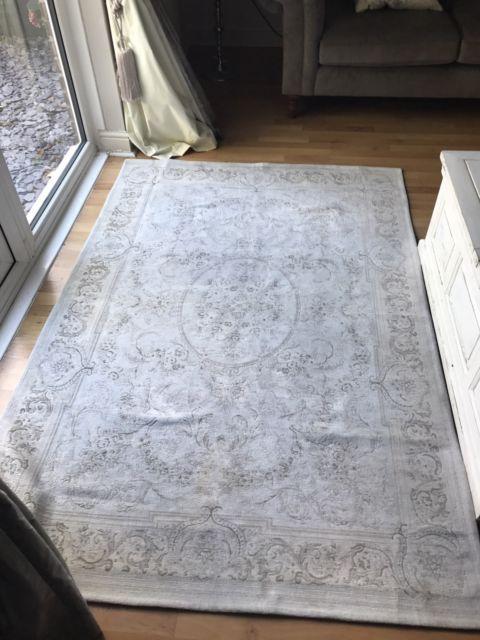 Laura Ashley Dove Grey Rug With Images