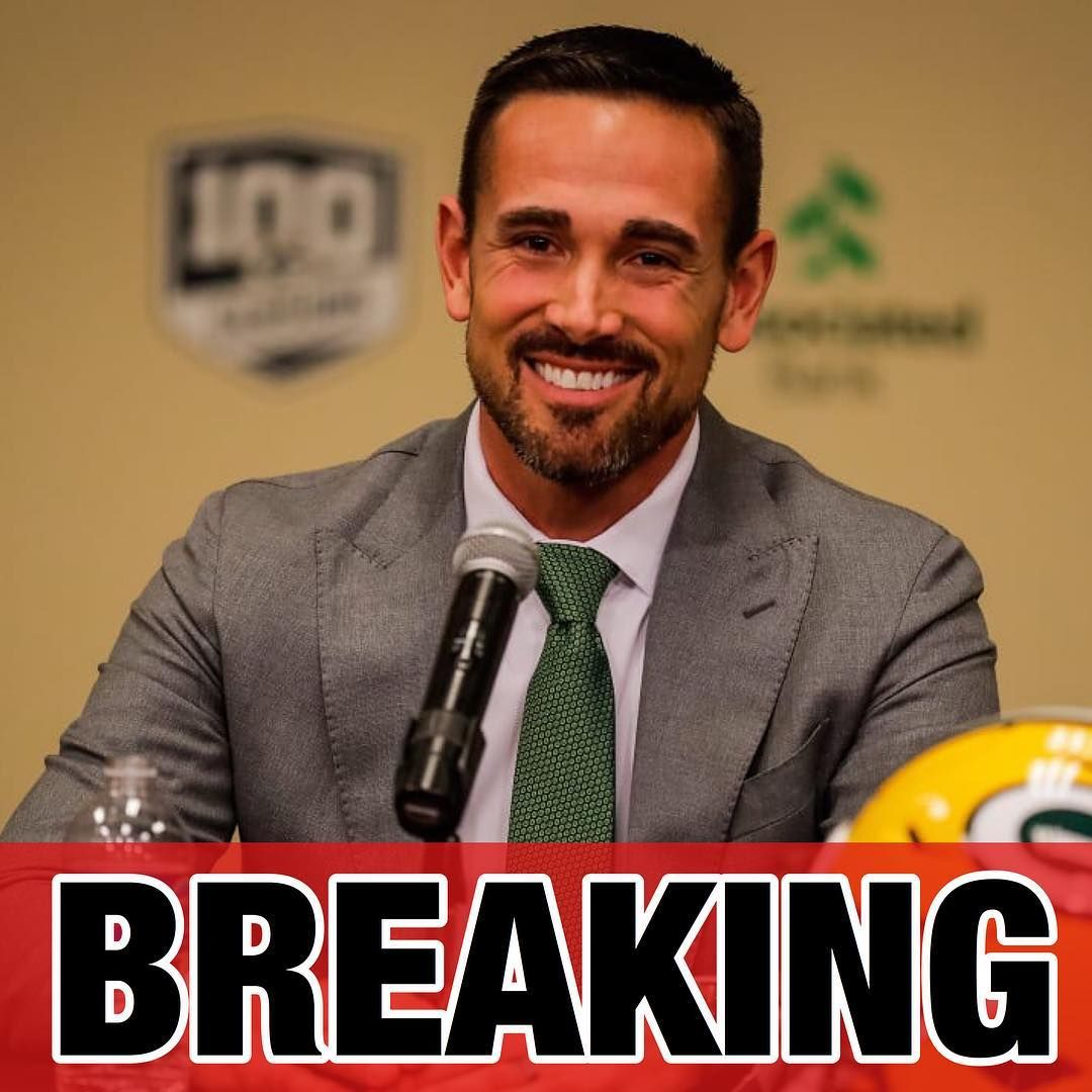 Breaking Packers Hc Matt Lafleur Suffered A Torn Achilles Playing Basketball On Wednesday Night And Will Undergo Surgery On Sund In 2020 Sports News Football