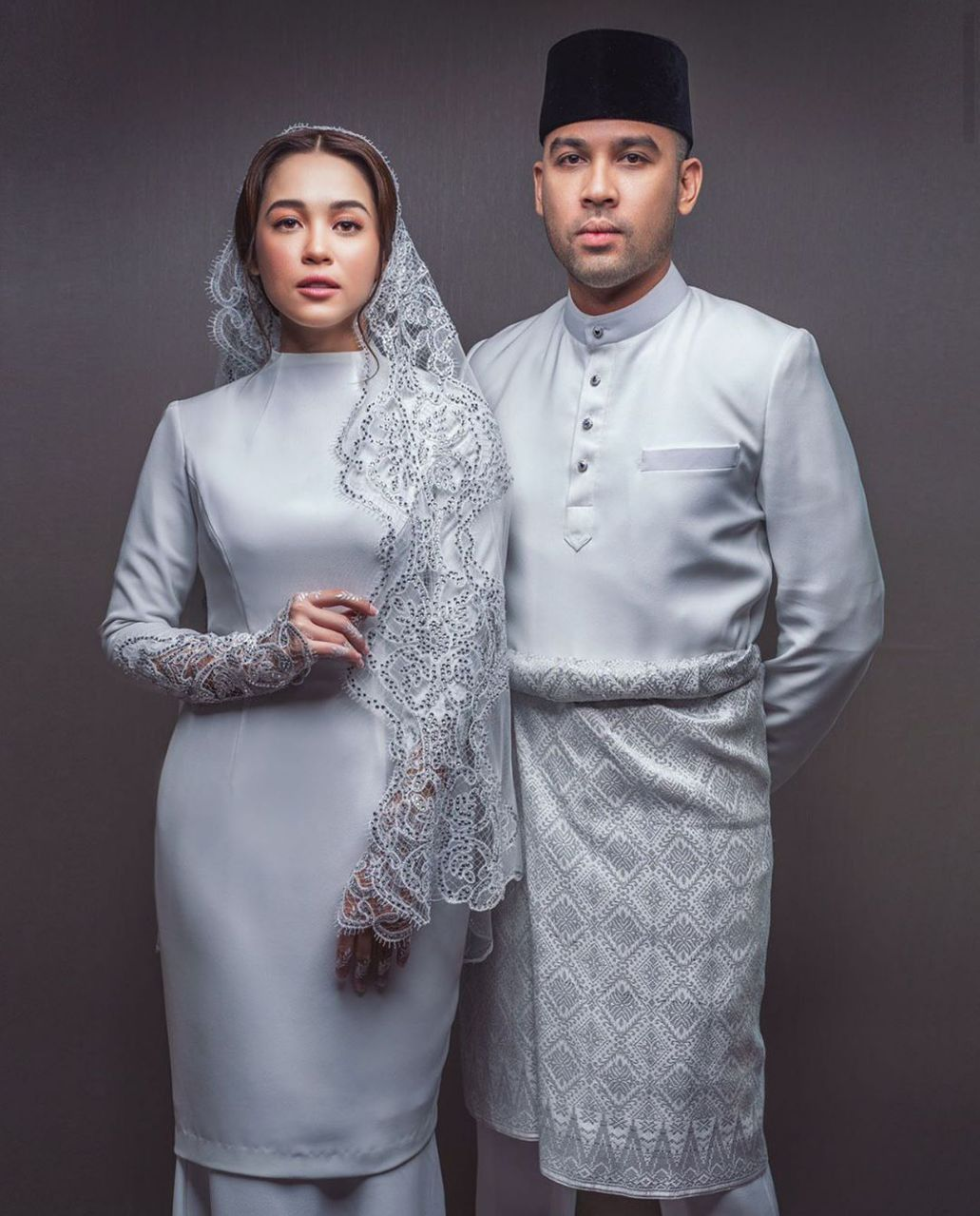 Simple And Timeless Nikah Attire White In 2020