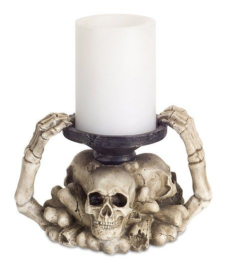 Candle Holders, Skull