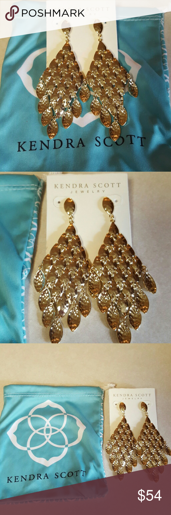 Kendra scott chandelier earrings with dust bag nwt arubaitofo Images