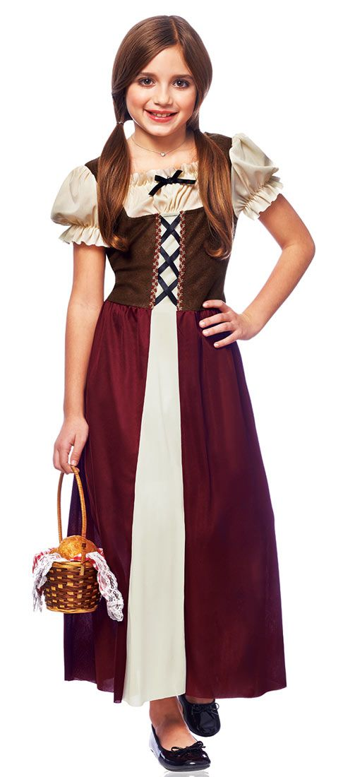 medieval peasant girl | Peasant Girls Costume - Medieval and Renaissance Costumes  sc 1 st  Pinterest & medieval peasant girl | Peasant Girls Costume - Medieval and ...