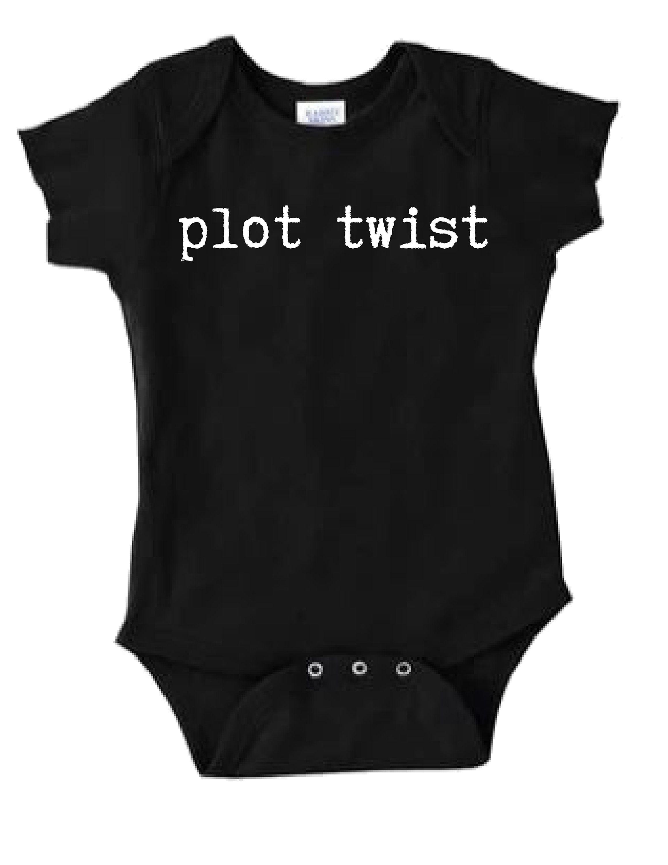 fddc2ffdf New born gift onesie bodysuit Plot Twist, printed Onesie, baby shower gift  Onesie, funny baby gift, bodysuit, Plot twist Onesie for baby by  ForFunWithLove ...