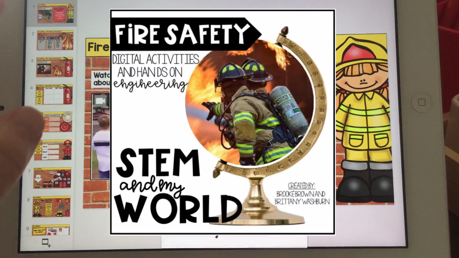 Stem And My World Fire Safety