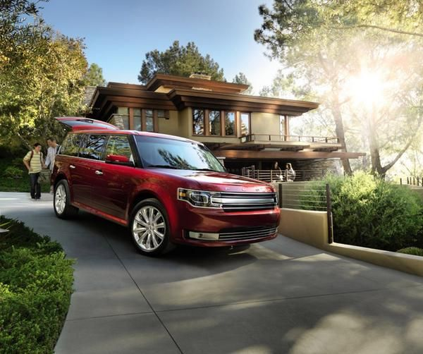 Red Ford Flex