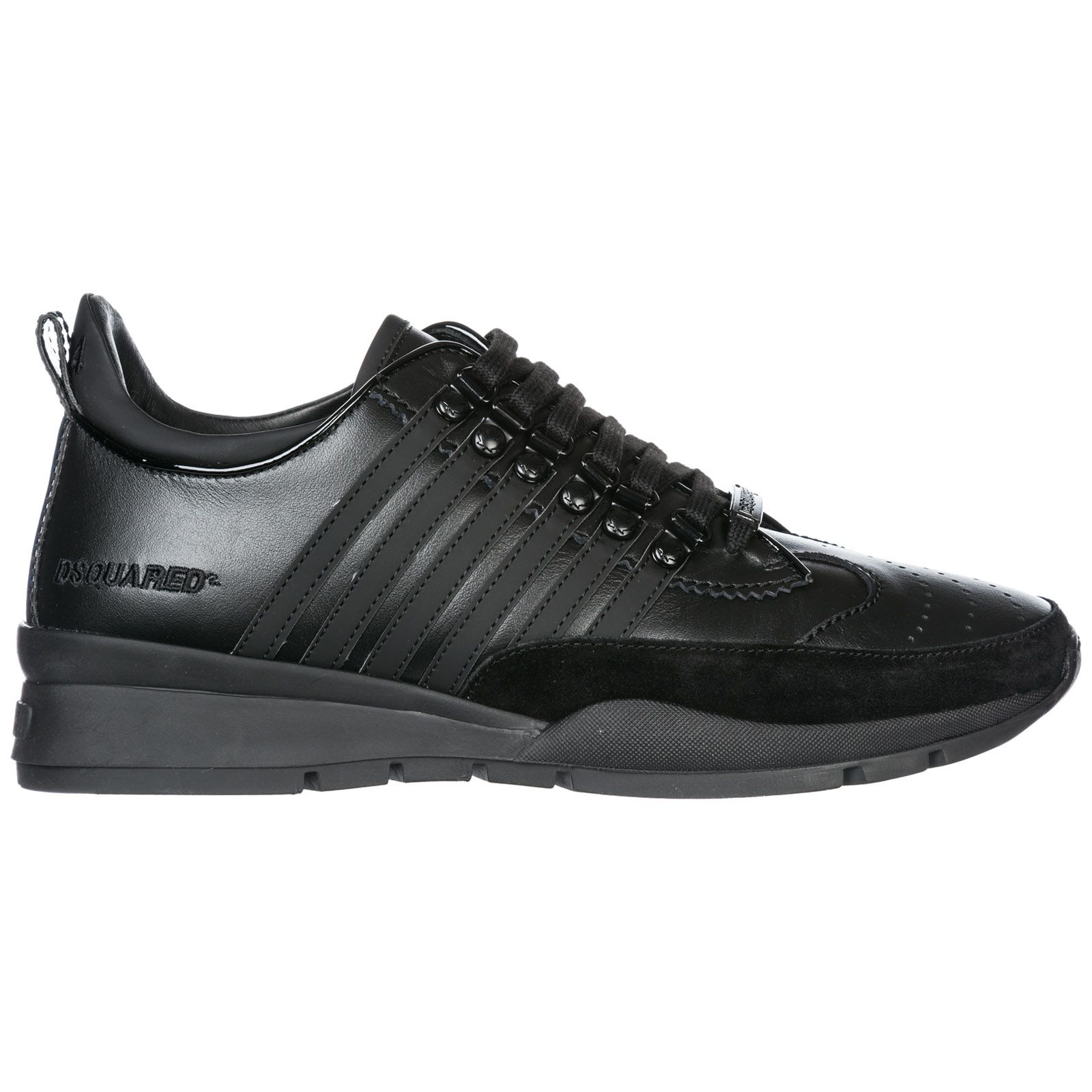 Men's shoes leather trainers sneakers 251 | Leather trainers