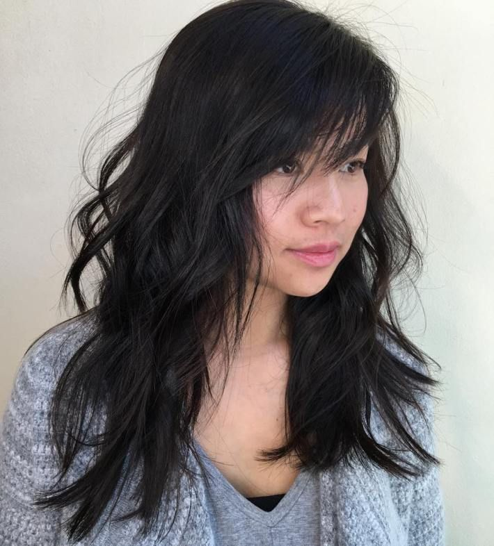 40 Side Swept Bangs To Sweep You Off Your Feet Choppy Layered