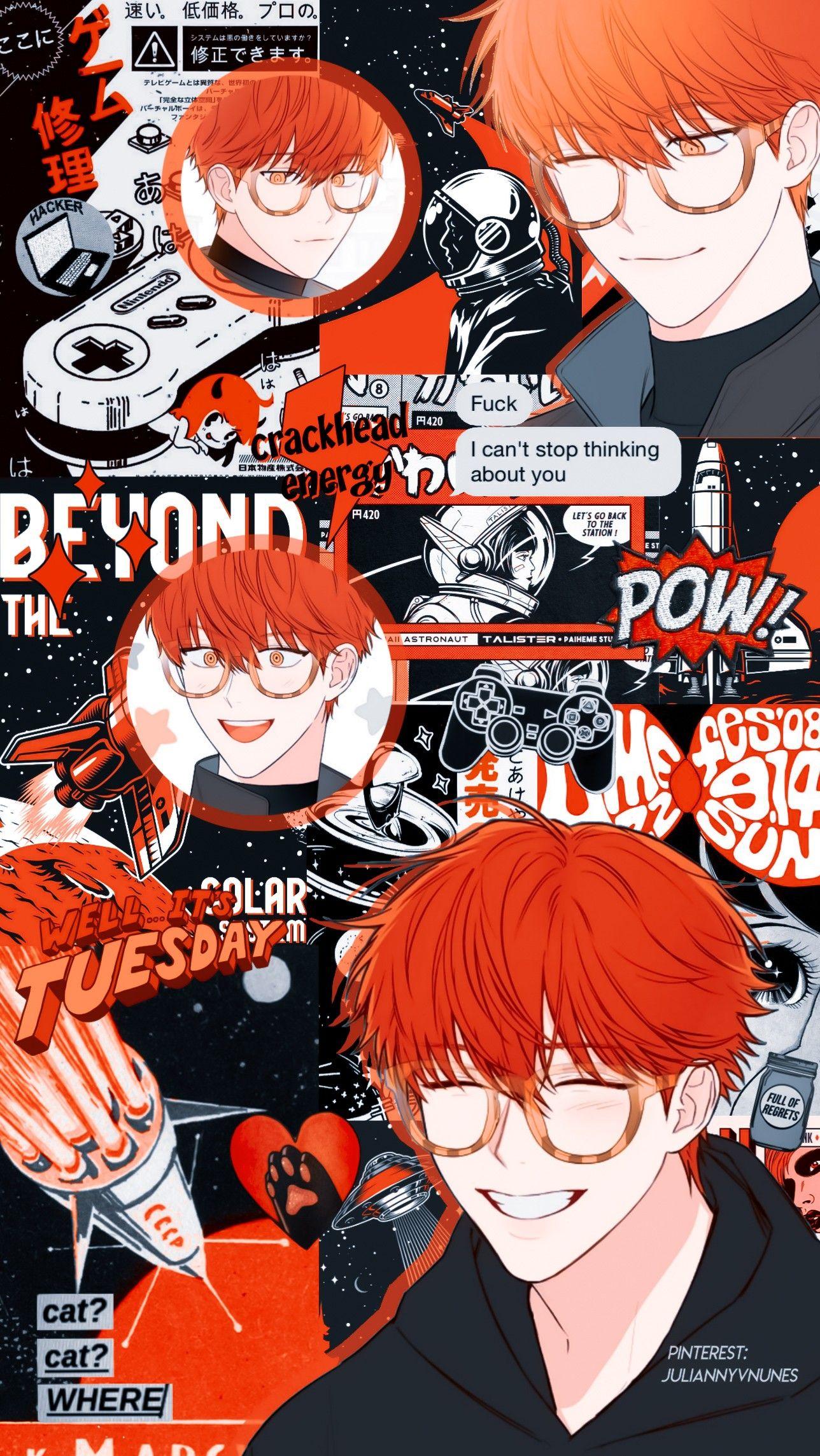 Mystic Messenger Seven 707 Mystic Messenger Seven Mystic Messenger Anime Wallpaper