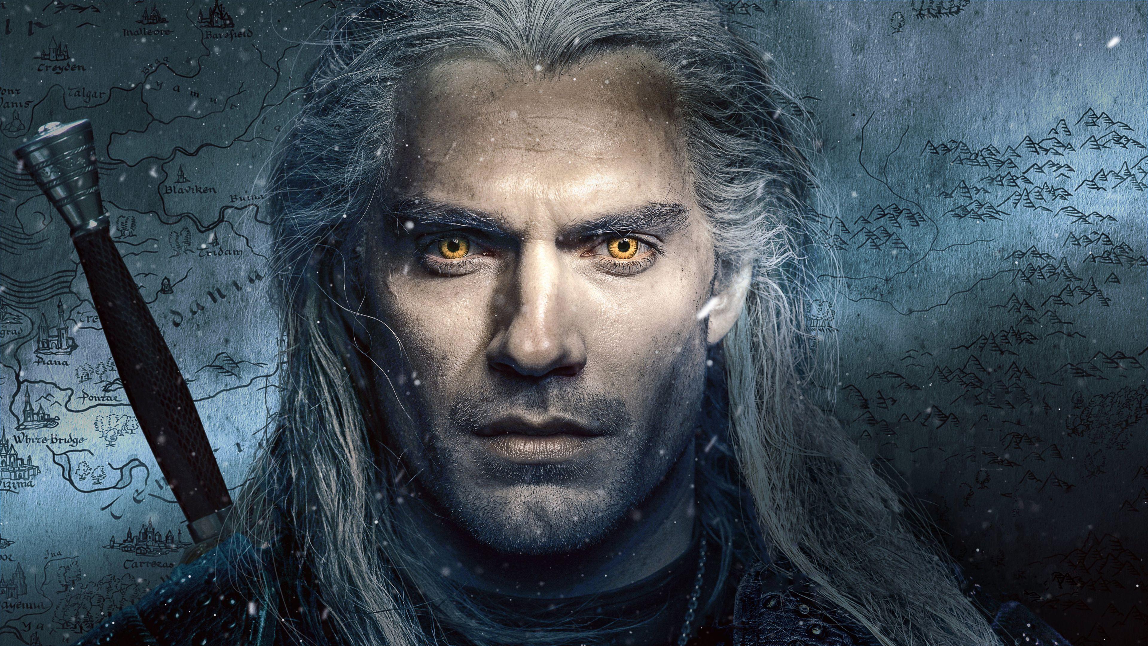 The Witcher The Witcher The Witcher Geralt Henry Cavill